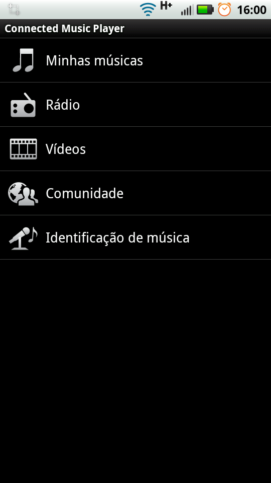 MotoBlur - Novo Music Player