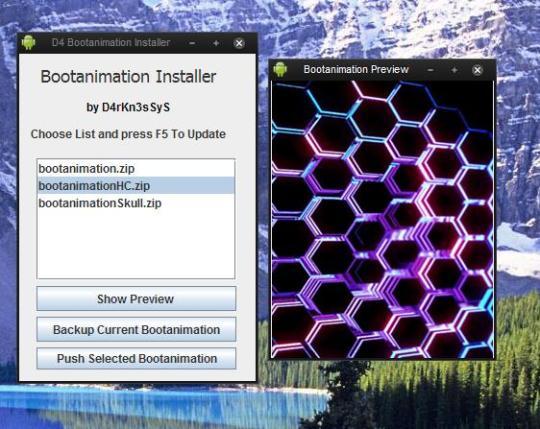 Bootanimation Installer