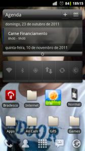 CyanogenMod 7 - Milestone