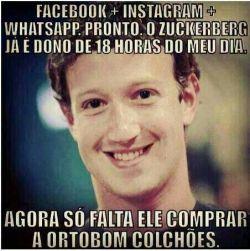 Mark Zuckerberg em: Dono do meu dia